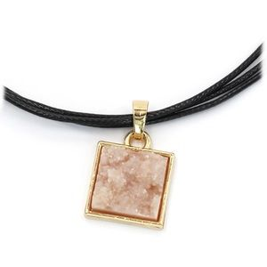 Ocean Fashion Jewelry - Fashion square crystal original necklace